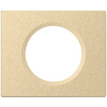 069381 - Рамка однопостовая Legrand Celiane, прямоугольная, 100х82мм, камень (известняк)