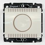 777059 + 775910 - Светорегулятор (диммер) поворотный, 1000 Вт, Legrand Galea Life (белый)