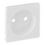 754970 - Лицевая панель силовой розетки 2К Legrand Valena Life (белая)