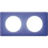 066662 - Рамка 2-постовая Legrand Celiane, прямоугольная, 161х82мм (лиловый муар)
