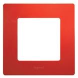 672531 - Рамка 1-постовая Legrand Etika (красная)
