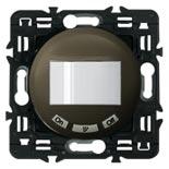 064954 + 067091 + 080251 - Датчик движения без нейтрали с функцией принудительного отключения Легранд Селян, 400Вт (графит)