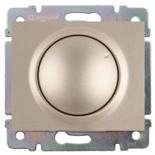 771468 + 775654 - Светорегулятор (диммер) поворотный, 400 Вт, Legrand Galea Life (титан)