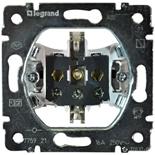 775921 - Механизм розетки электрической с заземлением, Legrand Galea Life, винтовые клеммы