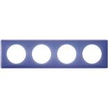 066664 - Рамка 4-постовая Legrand Celiane, прямоугольная, 303х82мм (лиловый муар)
