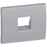 771395 - Лицевая панель Legrand Galea Life для телефонной розетки RJ 11 и RJ ISDN, алюминий