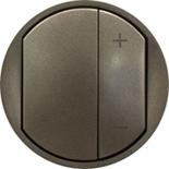 065283 - Лицевая панель для светорегулятора, Legrand Celiane (графит)