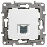 672253 - Розетка интернет RJ45, категория 6 UTP, Legrand Etika (белая)