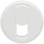 068237 - Лицевая панель для розетки телефонной, Legrand Celiane (белая)