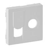 754830 - Лицевая панель для розетки TV-RJ45 Legrand Valena Life (белая)