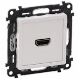 753171 - Розетка HDMI 1.3 для аудио/видео устройств, тип А, Legrand Valena Life (белая)
