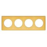 068674 - Рамка 4-постовая Legrand Celiane, 303×82мм, пластик (шафран)