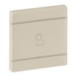 755261 - Лицевая панель для механизмов BUS/SCS с символом «Светорегулятор», 2 модуля Legrand Valena Life (слоновая кость)