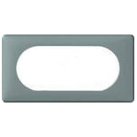 068745 - Рамка 4/5 модулей Legrand Celiane, 161×82мм, пластик (грей)