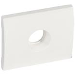 777066 - Лицевая панель для простой TV-розетки Legrand Galea Life, белая