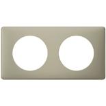 066712 - Рамка 2-постовая Legrand Celiane, прямоугольная, 161х82мм (грин перкаль)